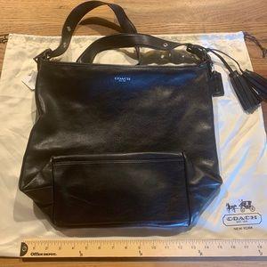 Coach Legacy Duffle / Purse (19893), Black Leather